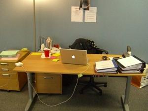 My office at AwfulJob, Inc.