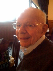 My grandpa - Stanley Ellis - on his 89th birthday