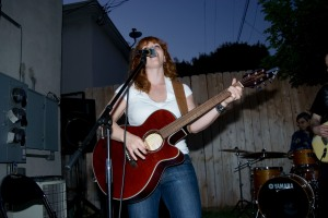 Thankfully I had a blues singer on hand to sing it, sister.
