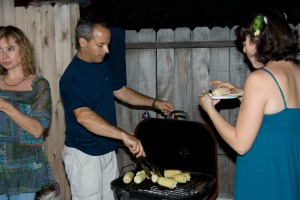 Frank declared our grill to be 100% Americana and patriotic. Whew! Huge sigh of relief, right?