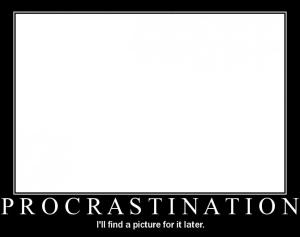 procrastinationblank